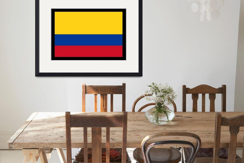 """Colombian Flag&quot  by KWGart"