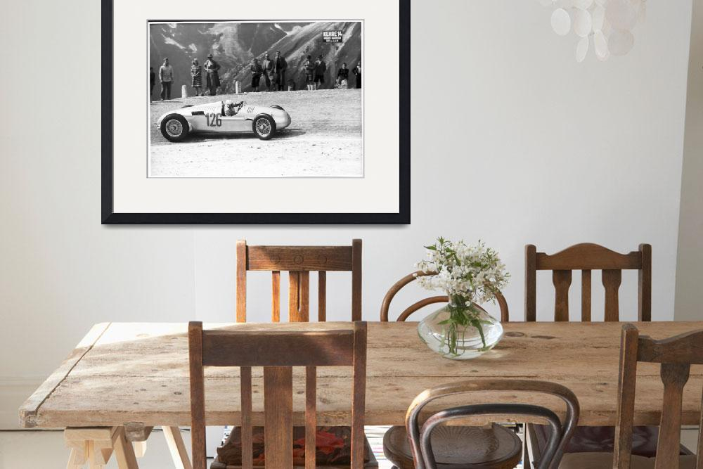 """Auto Union Hill Climber 1939&quot  by roadandtrackphotos"