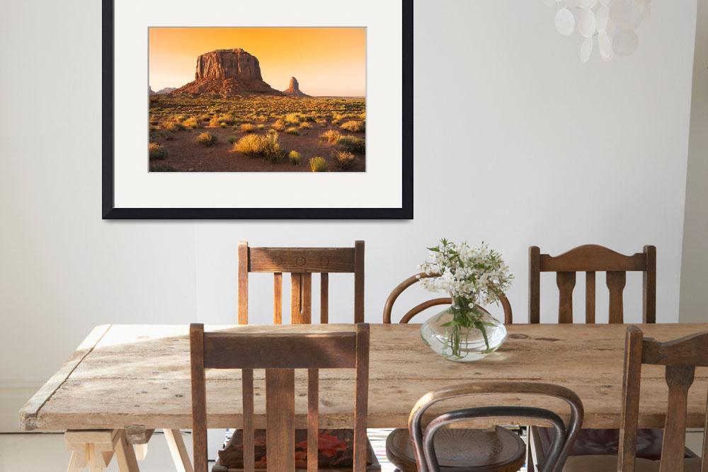 """Monument Valley Navajo Tribal Park, Utah&quot  (2007) by canbalci"