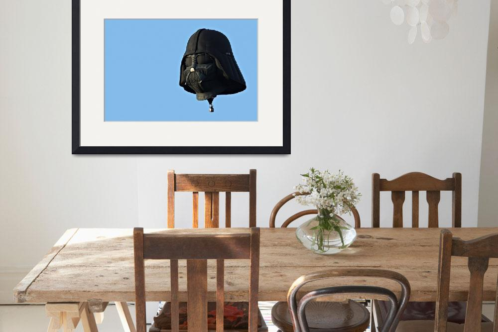 """Darth Vader Balloon&quot  (2011) by christiancarollo"