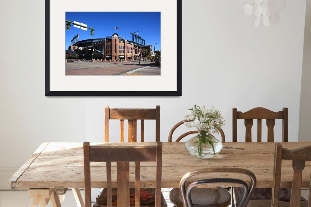 """Coors Field - Colorado Rockies&quot  (2009) by Ffooter"