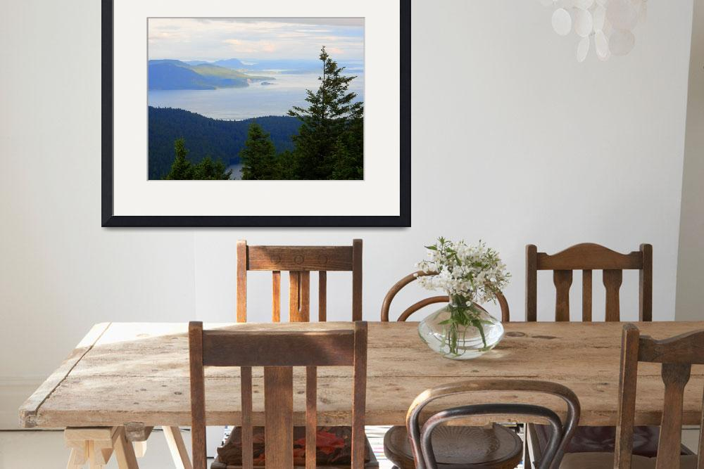 """Orcas Island - Mount Constitution&quot  by artsandi"