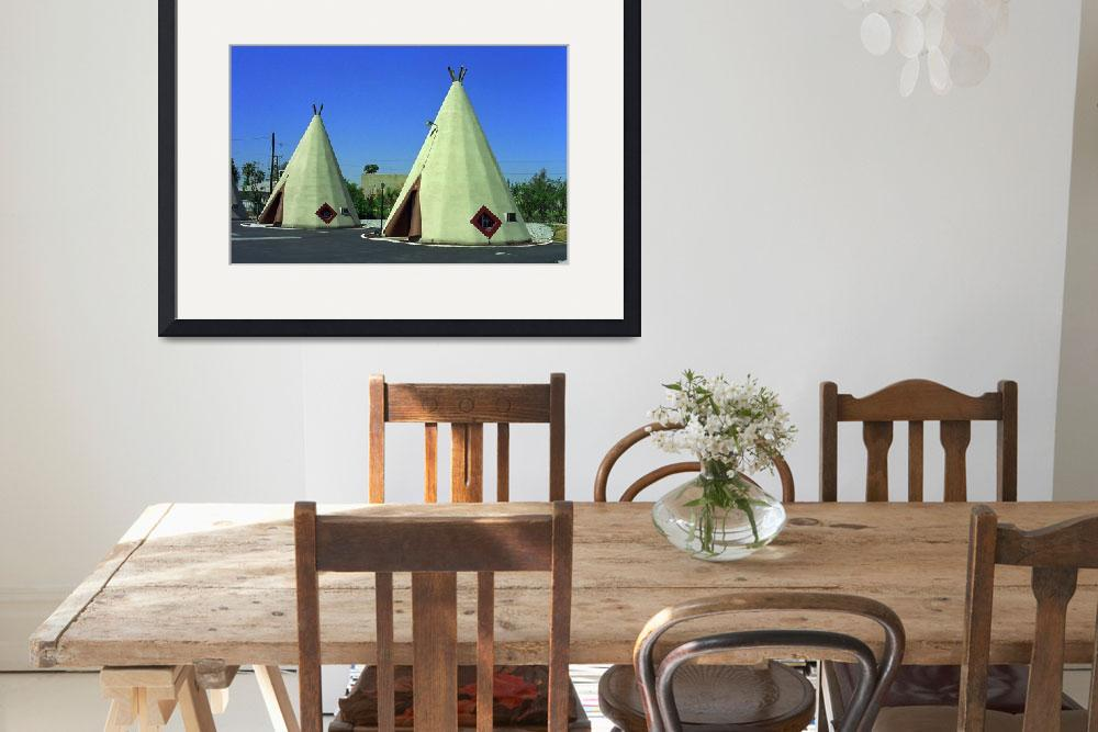 """Route 66 - Wigwam Motel&quot  (2007) by Ffooter"