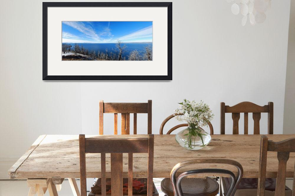 """2174-yellowstone-lake-butte-pan-2 copy&quot  by North22Gallery"