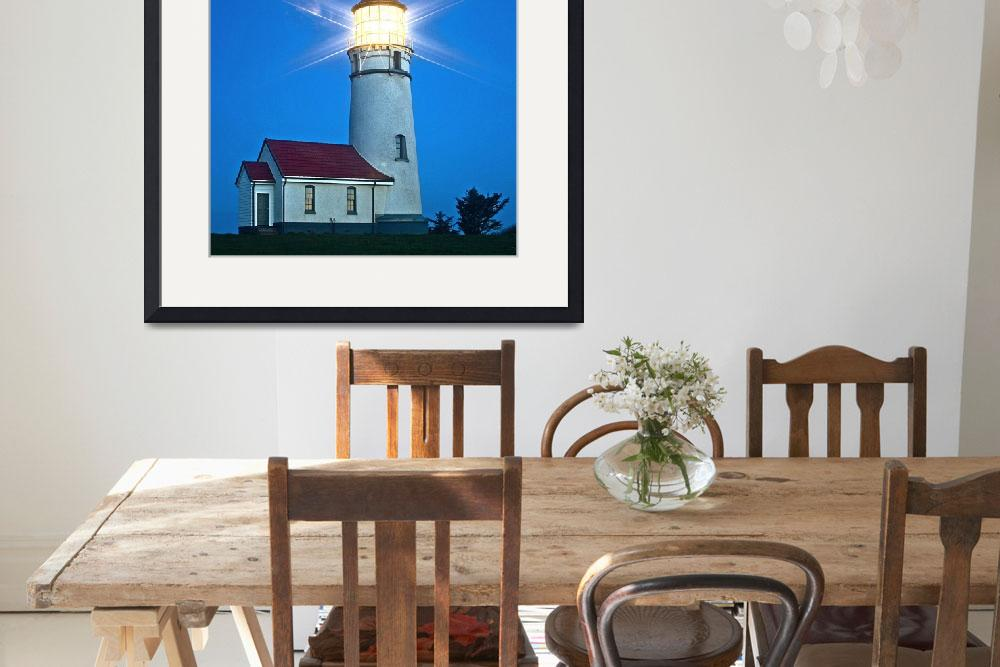 """Cape Blanco Lighthouse&quot  (2007) by aphimages"