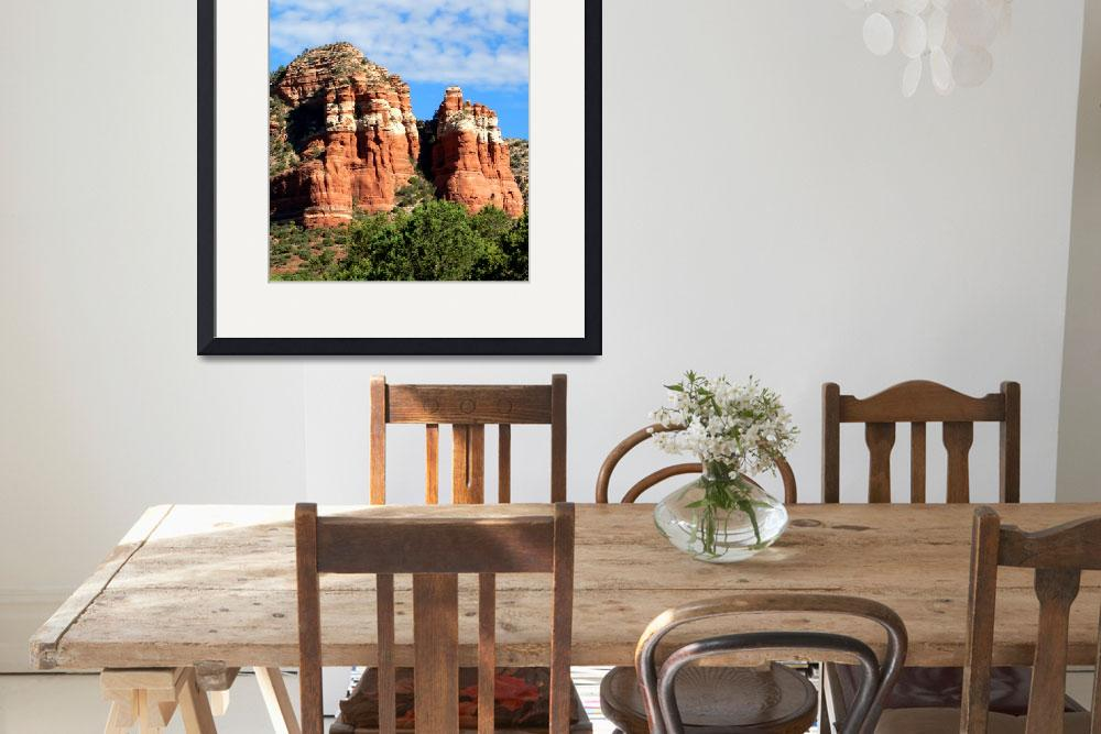 """Red Rock of Sedona&quot  (2008) by rayjacque"
