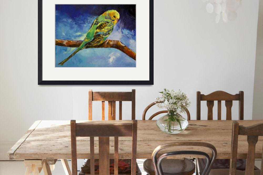 """Wild Parakeet&quot  by creese"