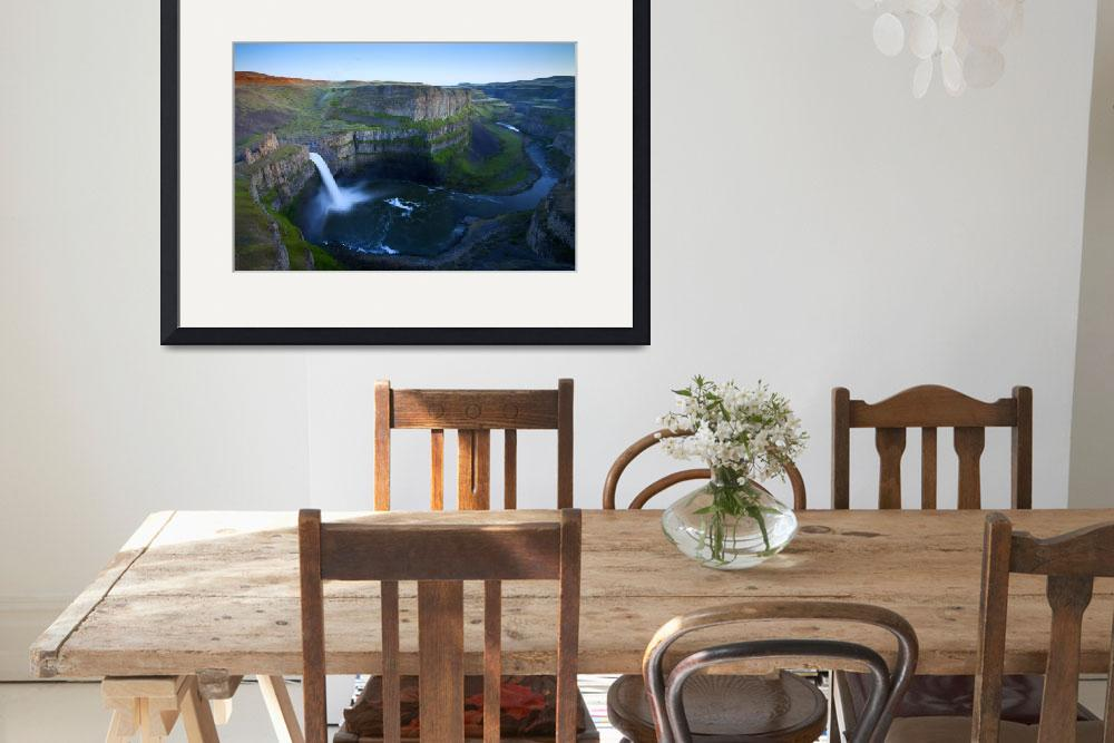 """Palouse Falls Dusk&quot  (2011) by Dawsonimages"