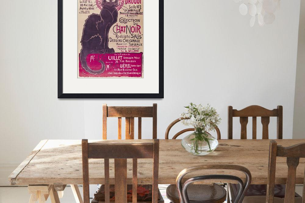 """Poster Collection du Chat Noir cabaret&quot  by fineartmasters"