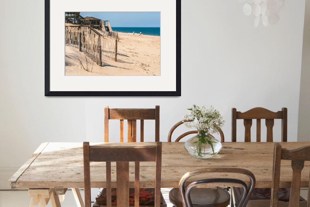 """town of nags head scenes on outer banks nc&quot  by digidreamgrafix"