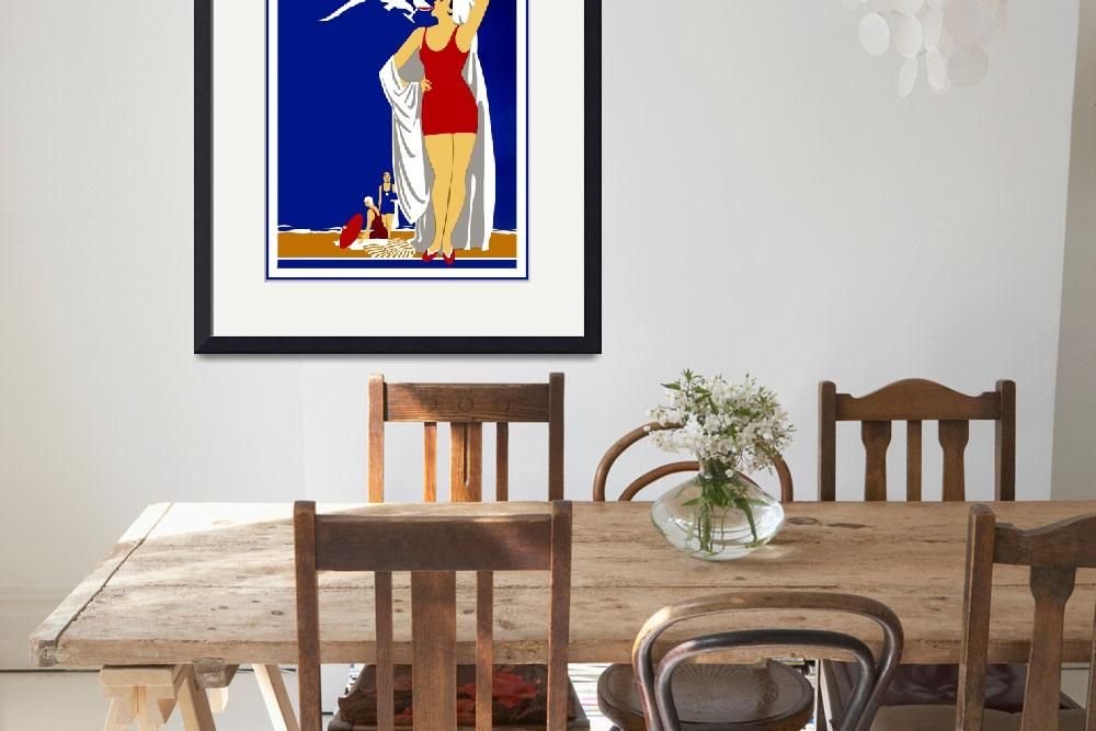 """New York Vintage Travel Poster (4)&quot  by shanmaree"
