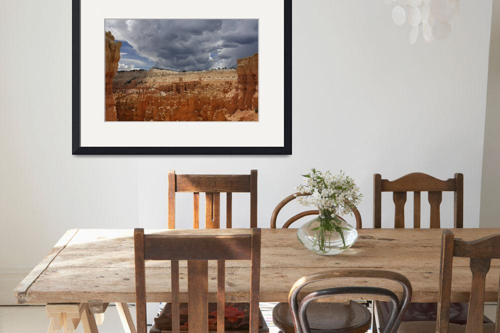 """Upcoming thunderstorm at Bryce Canyon&quot  (2012) by cisfo"