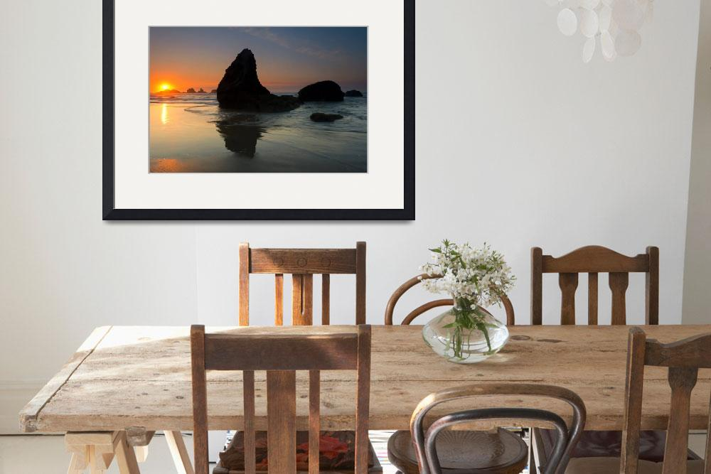 """Bandon Sundown&quot  (2017) by Dawsonimages"