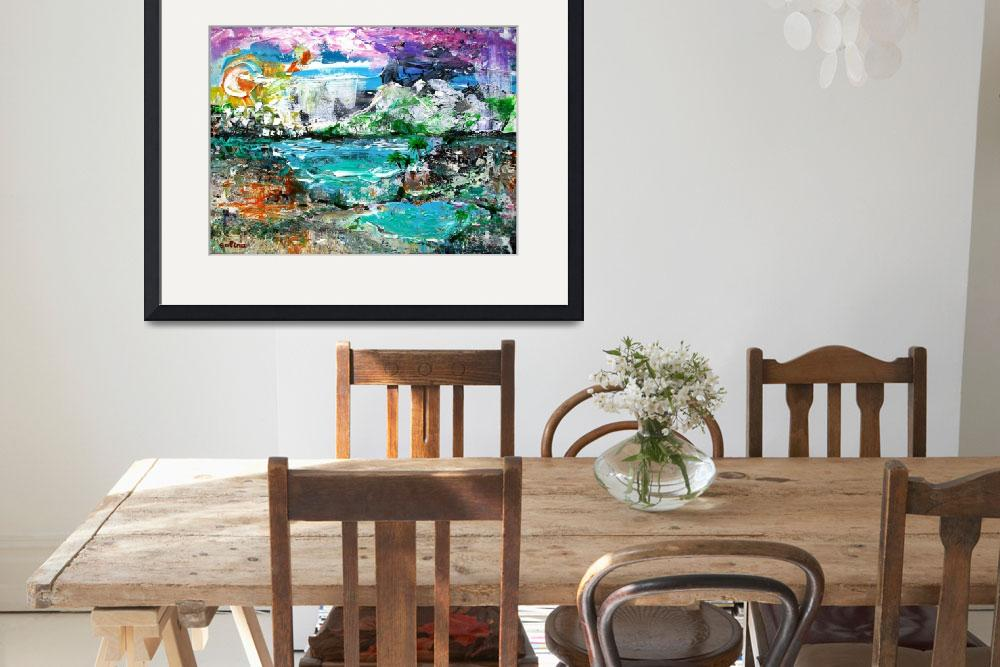 """Abstract Dreamscape&quot  by galina"
