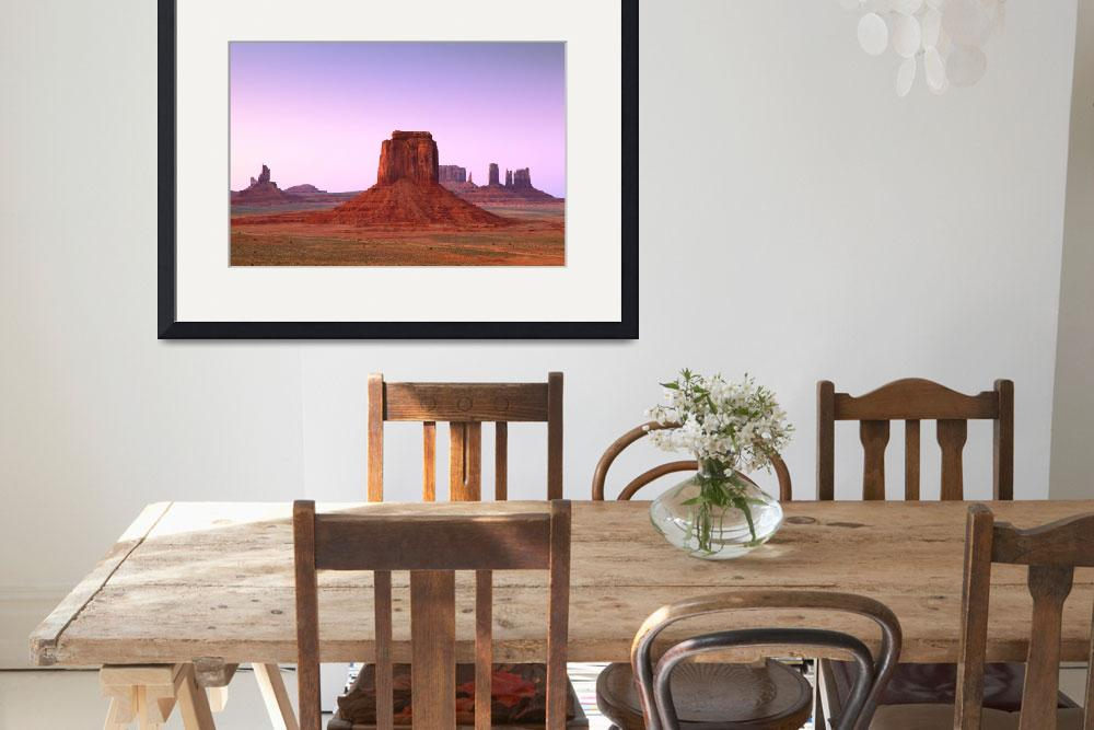 """Monument Valley&quot  (2013) by RoupenBaker"