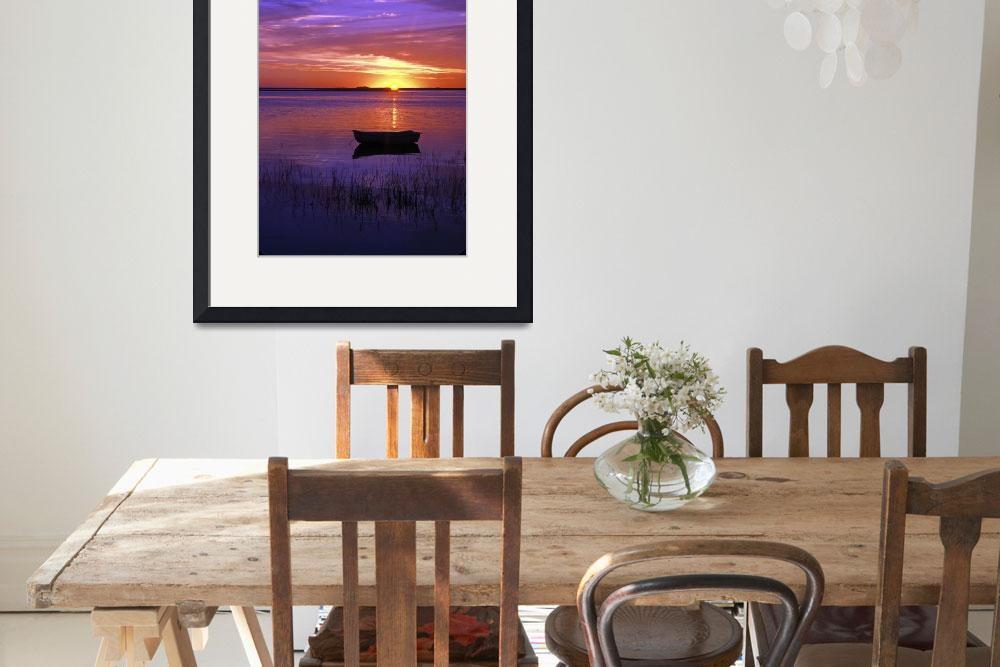 """Sunrise over Nauset Harbor, Cape Cod&quot  (2007) by CapeLight"