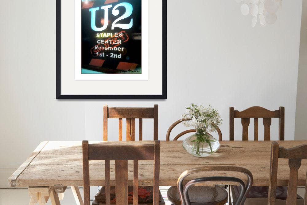 """U2 sold-out&quot  (2008) by nicoindo"