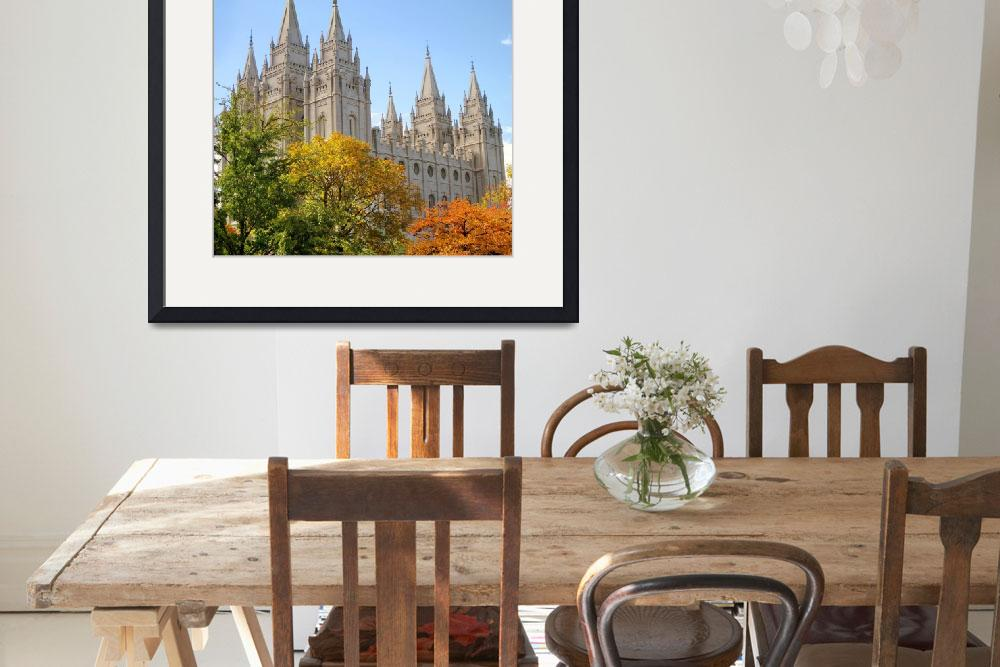 """Salt lake temple composite photo october conf&quot  by houstonryan"
