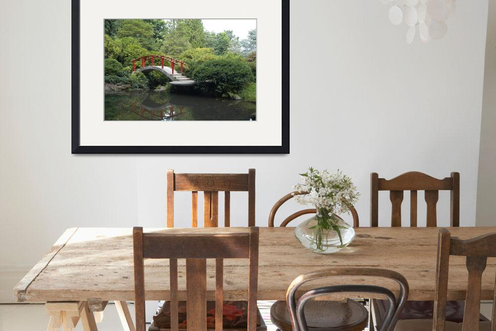 """Kubota Gardens Bridge&quot  (2011) by GaragePhotoShop"