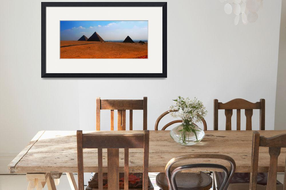 """Three Pyramids Of Giza&quot  (2005) by TheArtist"