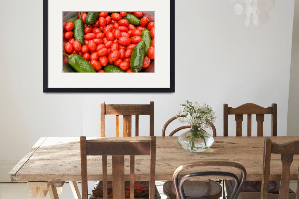 """Hot Peppers and Cherry Tomatoes&quot  (2009) by lightningman"