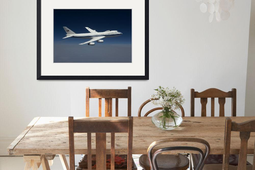 """An E-4B National Airborne Operations Center aircra&quot  by stocktrekimages"