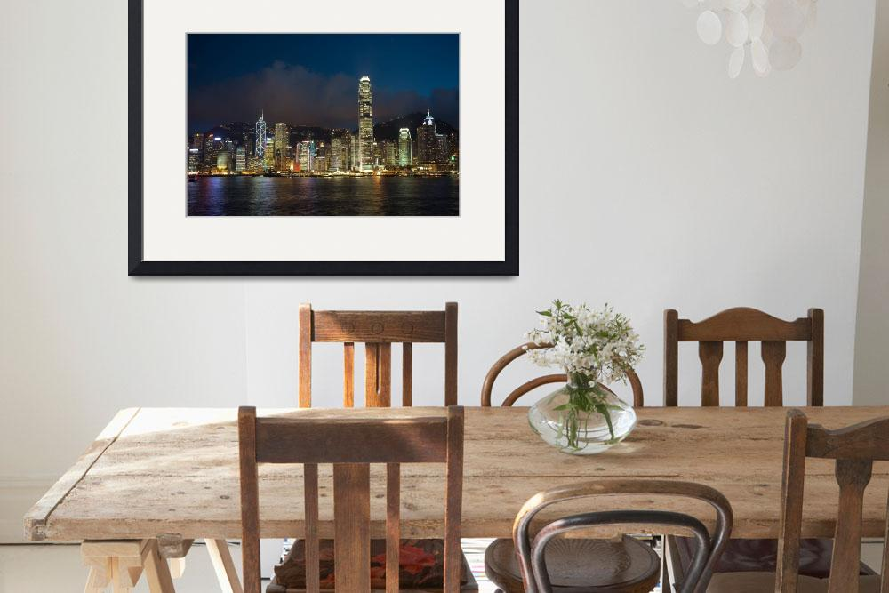 """Hong Kong skyline&quot  by msimons"