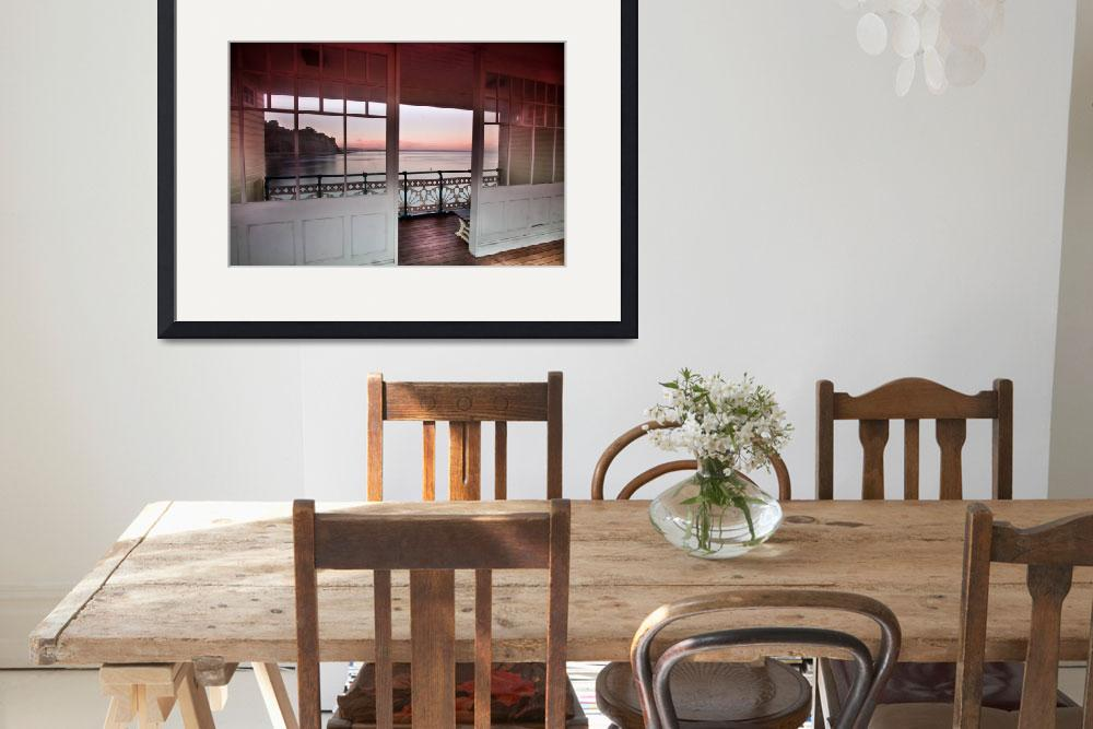 """Penarth Pier, Sunny Outlook&quot  by ajcronin"