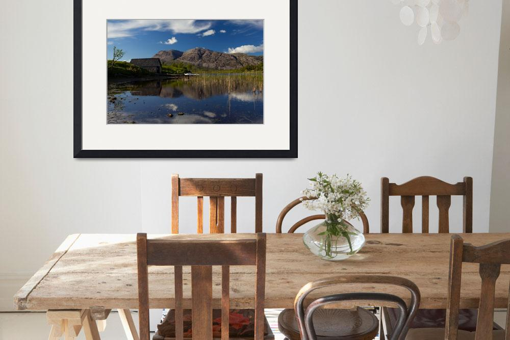 """Boat House On The Loch&quot  (2012) by derekbeattieimages"