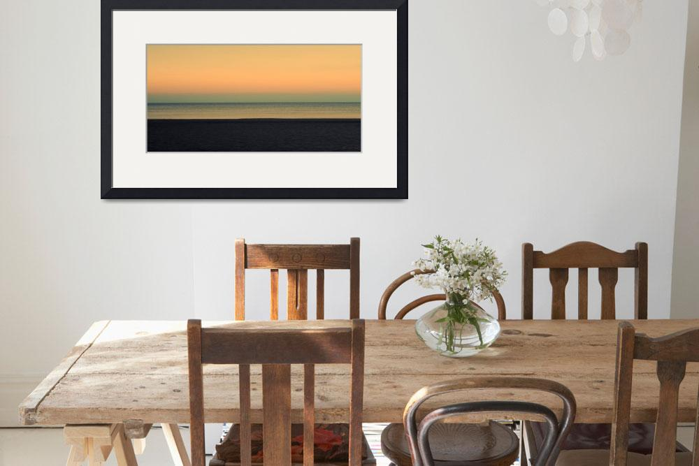 """Pastel Sunrise Seascape 1b&quot  (2015) by Ricardos"