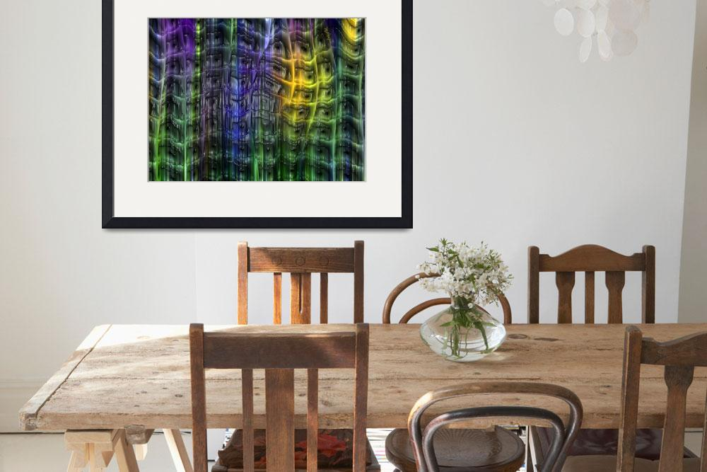 """Multi-colored Plastic Trellis&quot  by AngelsCreativeWorks"