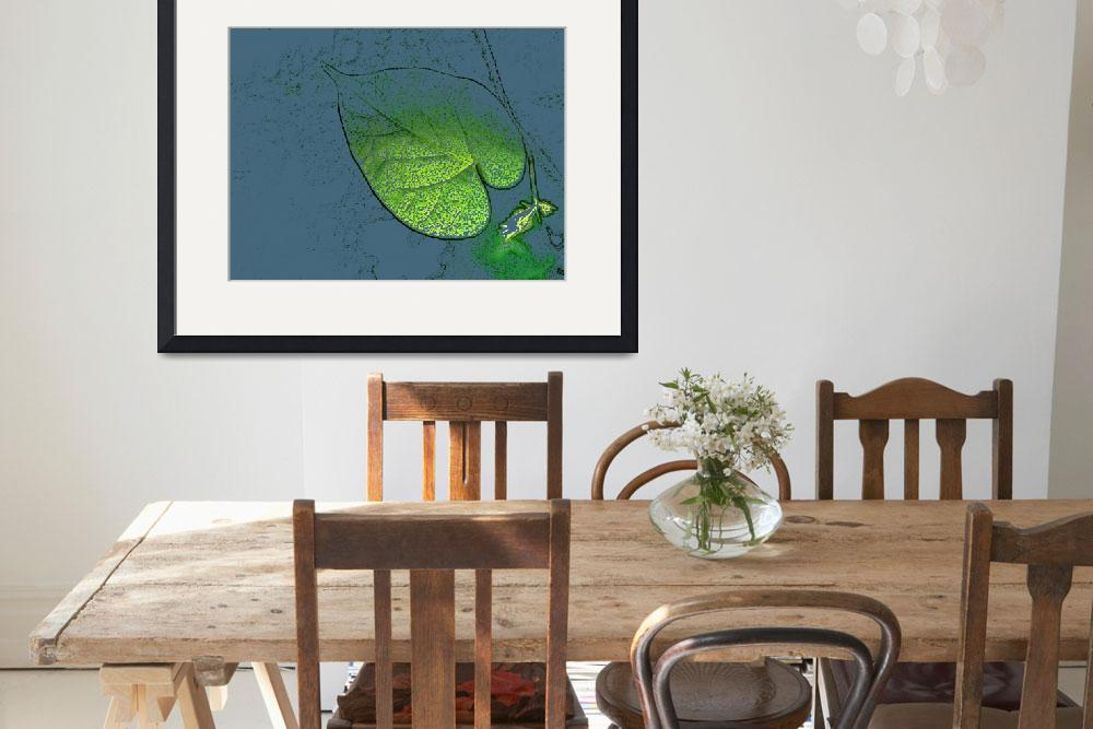 """Morning Glory Leaf 006 v3&quot  (2011) by artinspires"