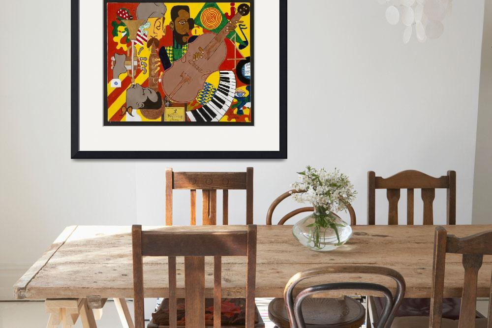 """Jazz in the Abstract&quot  (2006) by genegarland"