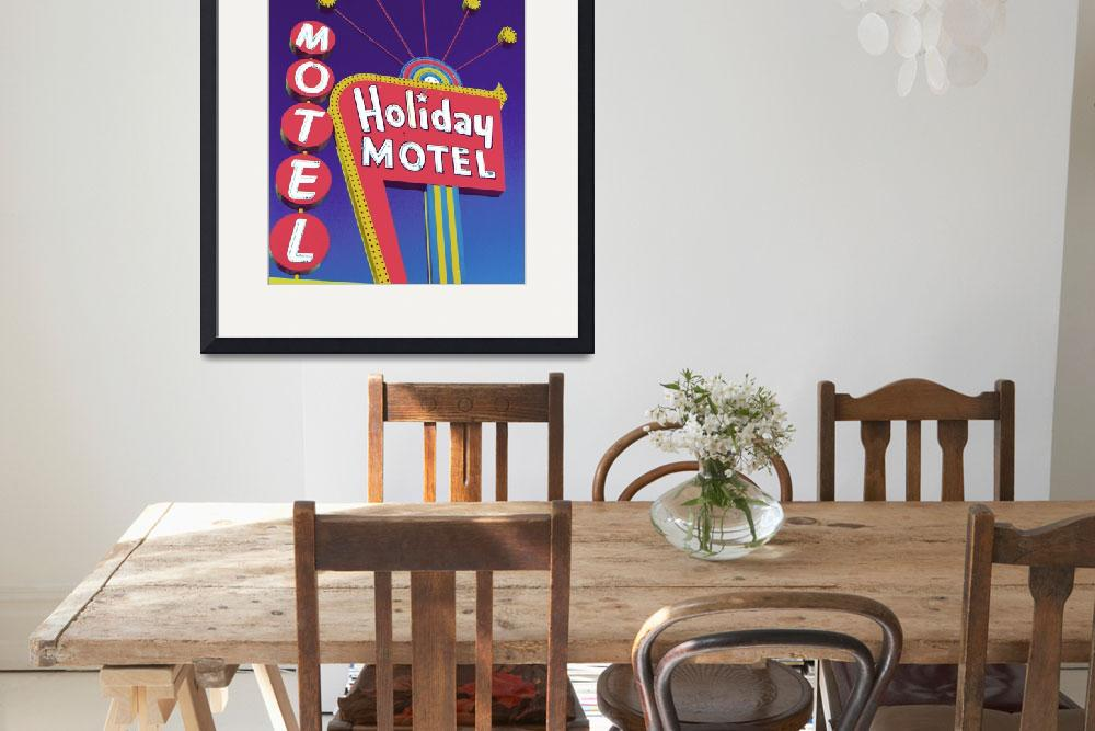 """Holiday Motel&quot  by midcenturymodern"