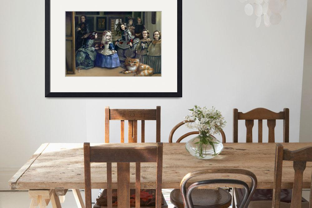 """Alice and Las Meninas&quot  (2010) by strangeling"