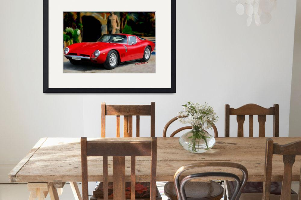 """1967 Bizzarrini 5300 GTStrada Alloy&quot  (2004) by ArtbySachse"