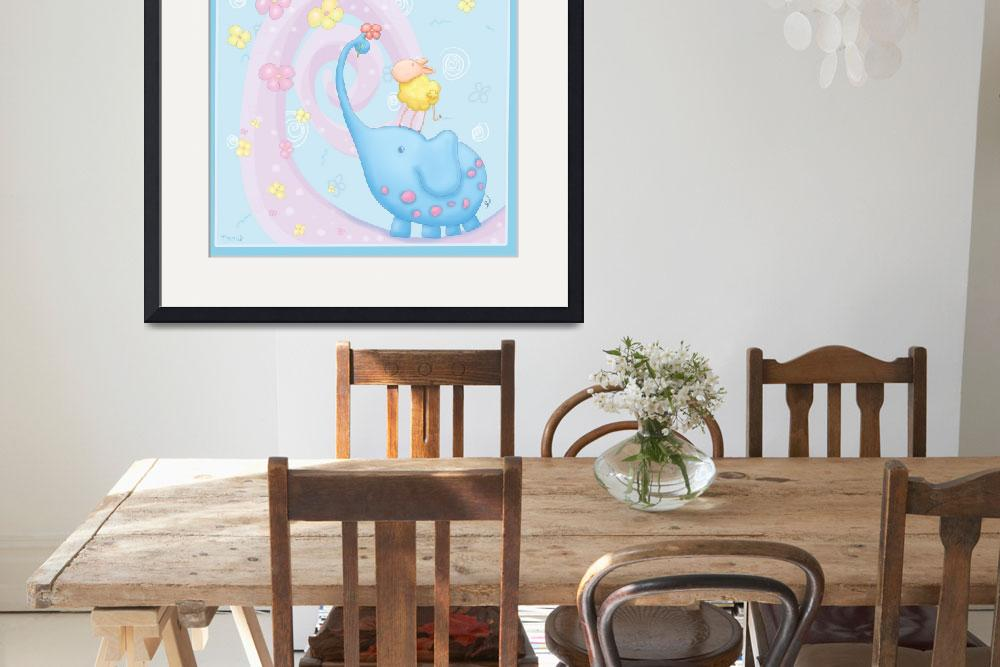 """Baby Blue kids Room&quot  (2008) by Tooshtoosh"