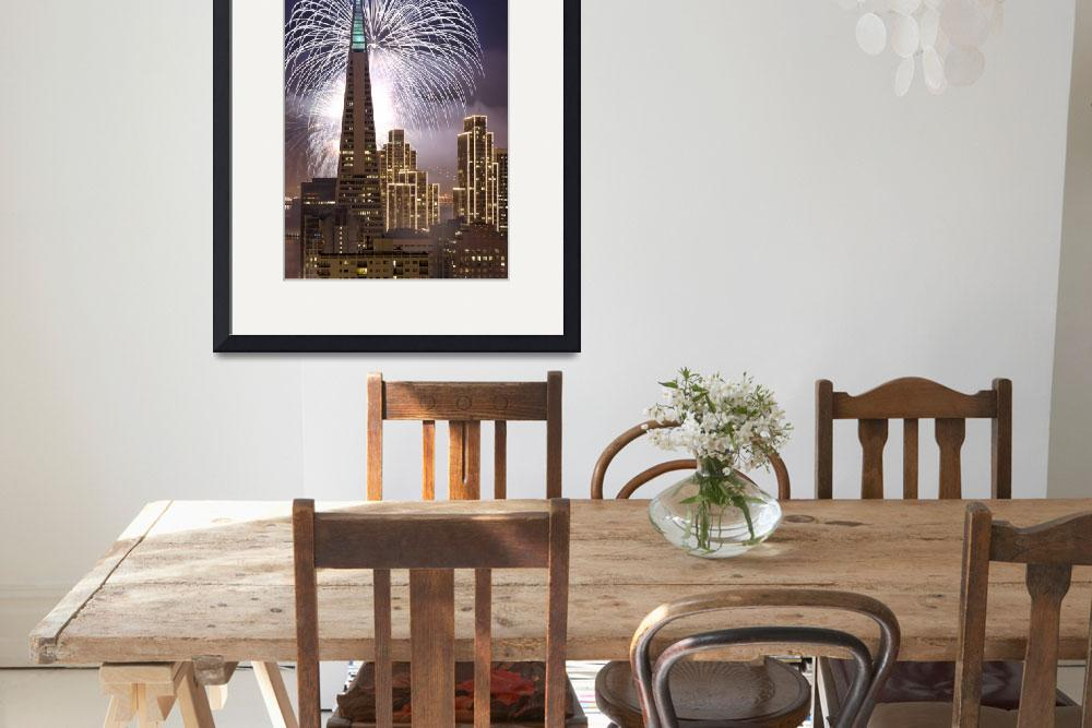 """Fireworks over San Francisco&quot  (2007) by canbalci"