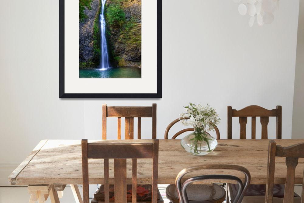 """Horsetail Waterfall&quot  (2015) by haybales"