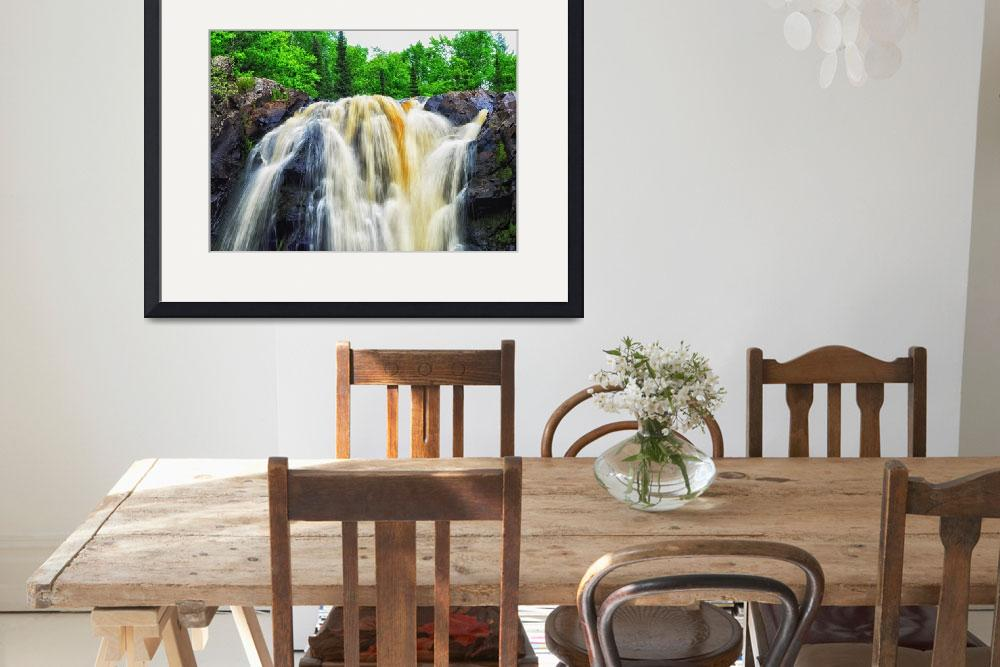 """Little Manitou Falls&quot  (2016) by LJdesigns"