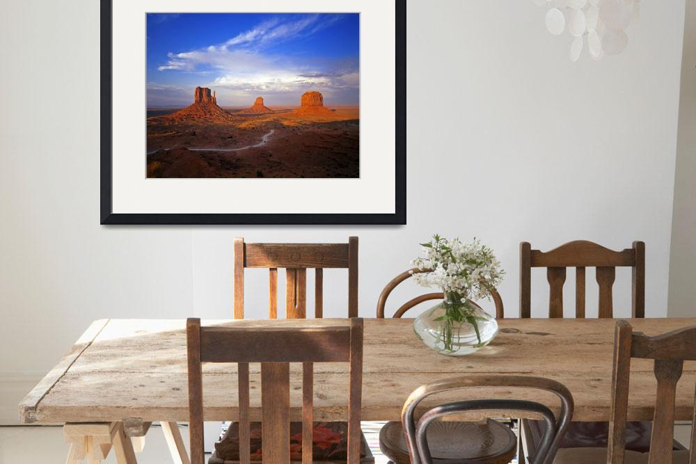 """Monument Valley #6&quot  (2000) by mikenorton"