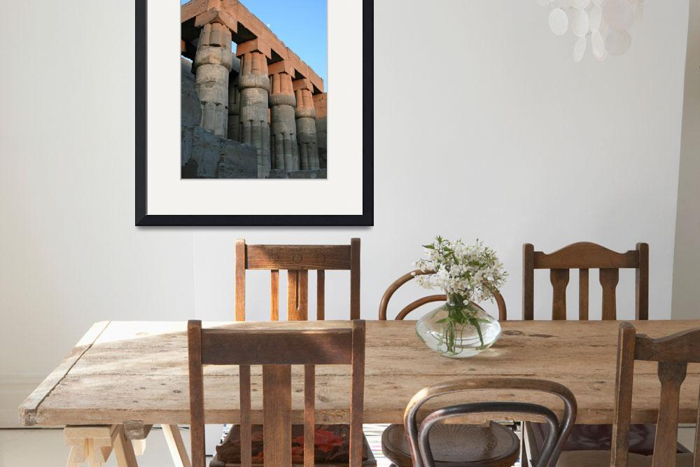 """Luxor Temple 53&quot  by rhallam"