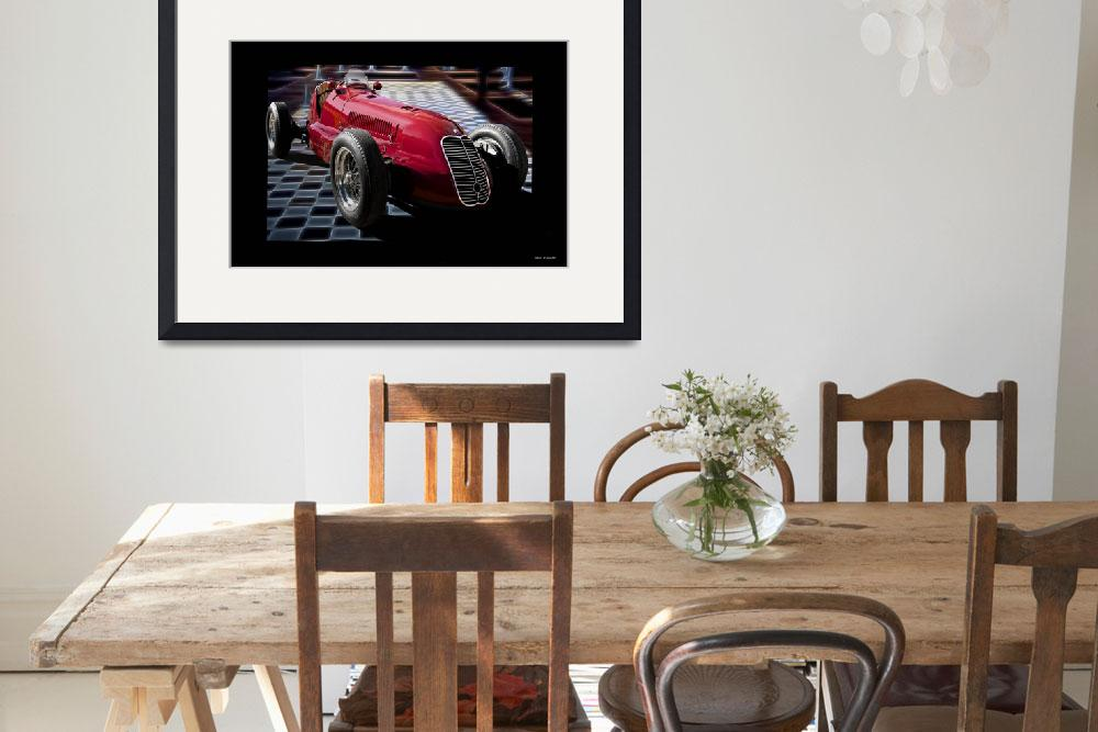"""1939 Maserati 8CTF Racer&quot  by FatKatPhotography"