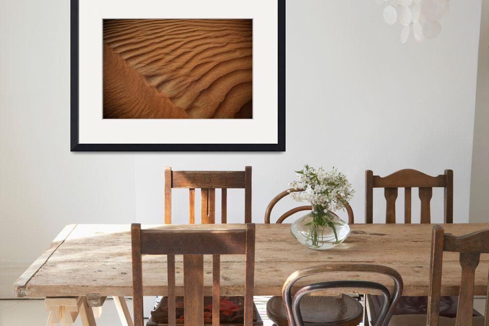 """Sand Patterns in the Desert 3&quot  (2007) by DonnaCorless"