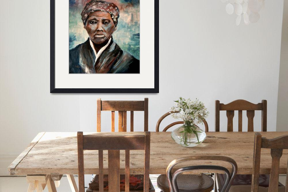 """Harriet Tubman&quot  (2001) by GinetteCallaway"