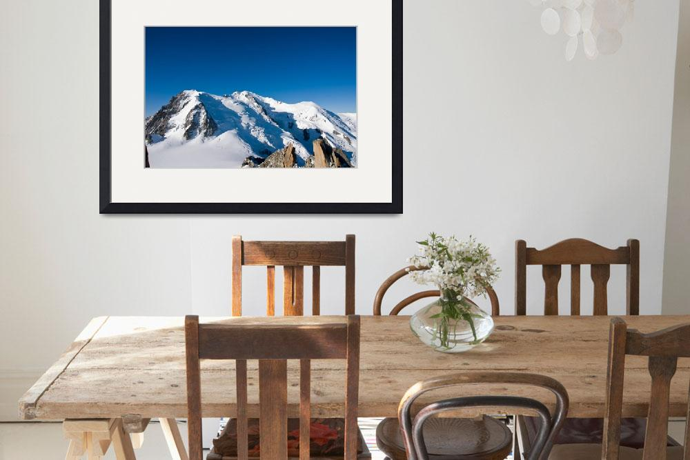 """Mont Blanc 7&quot  by mystockimage"