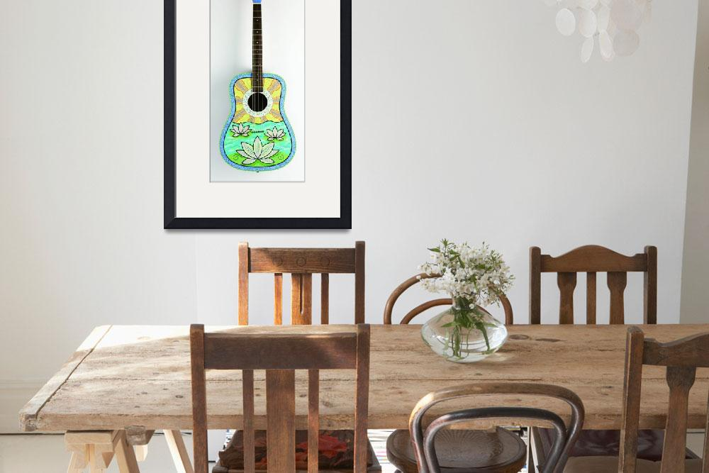 """lotus guitar&quot  (2006) by staceycreek"