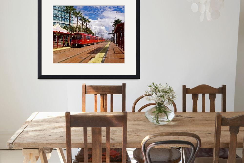 """San Diego Trolley&quot  by kphotos"