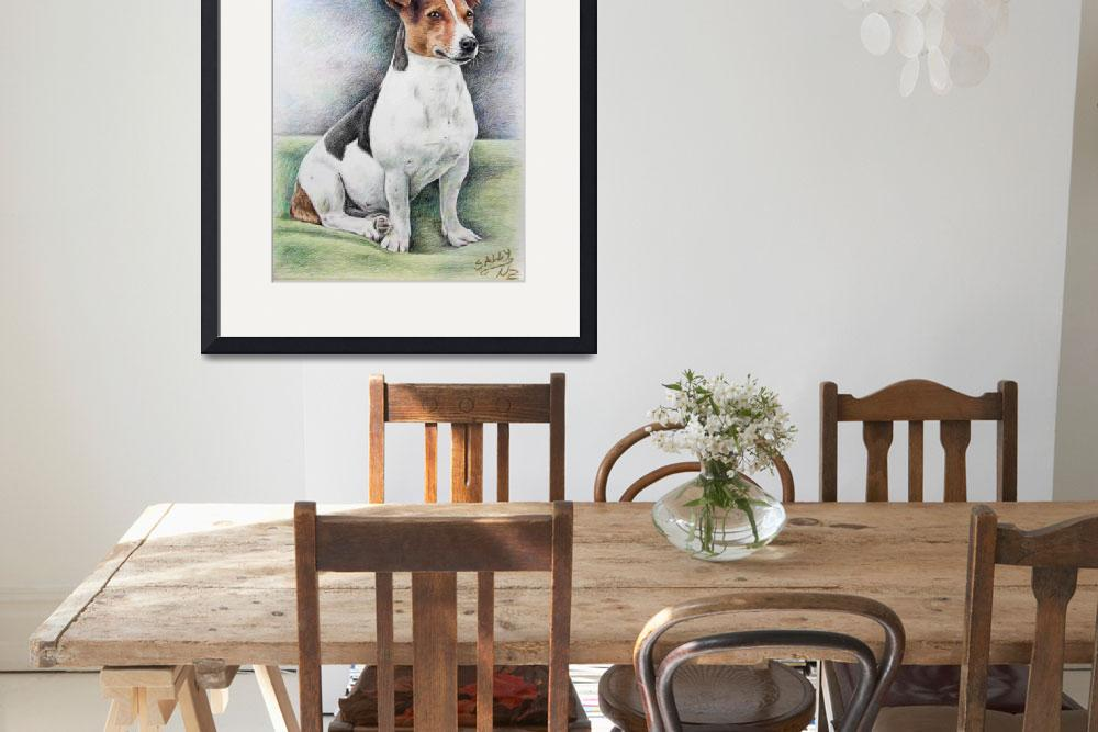 """Jack-Russell-Terrier&quot  by ArtsandDogs"