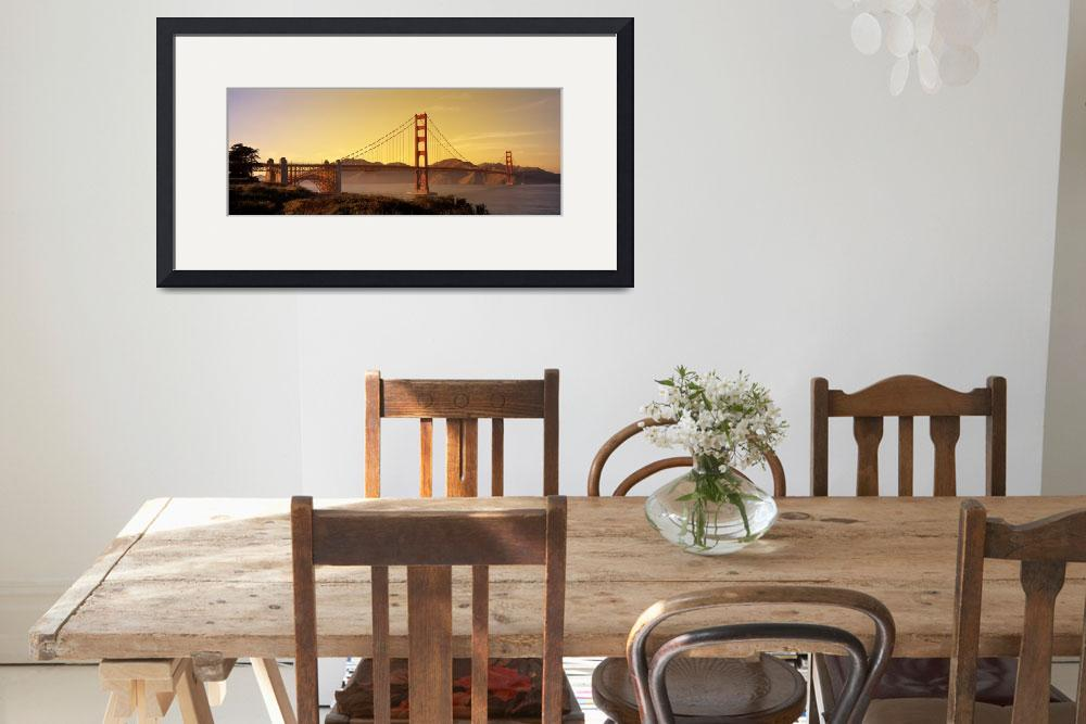 """Golden Gate Bridge, San Francisco&quot  by IK_Stores"